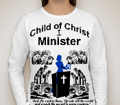 Minister-Women-white ls shirt