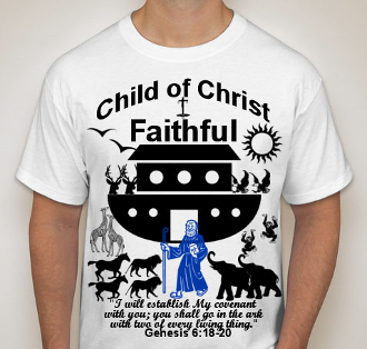 Faithful-Man-white ss shirt