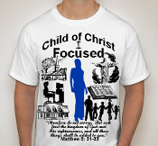 Focused-Woman-white ss shirt