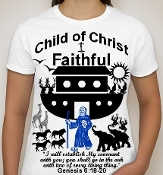 Faithful-Woman-white ss shirt