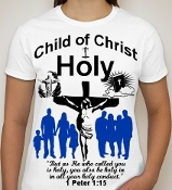 Holy-Woman-white ss shirt