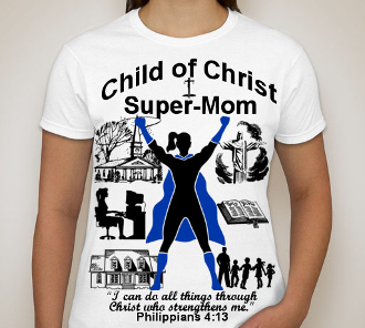 Super Mom-Woman-white ss shirt