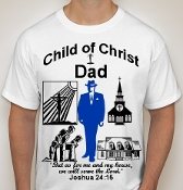 Dad-Man-white ss shirt