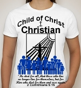Christian-Woman-white ss shirt