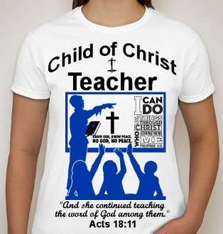 Teacher-Woman-white ss t-shirt